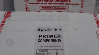 Llegaron 4.200 Sputnik V primer componente. Priorizan al personal de Seguridad y Educación