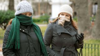 Alerta por bajas temperaturas hasta el jueves